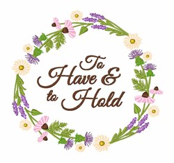 Have & Hold embroidery design
