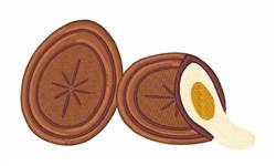 Cream Egg embroidery design