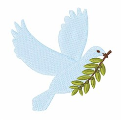 Peace Dove embroidery design