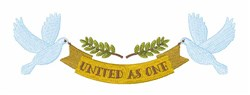 United As One embroidery design