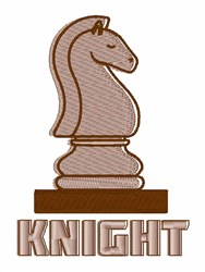 Chess Knight embroidery design