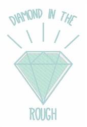 Diamond In Rough embroidery design