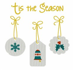 Tis The Season embroidery design