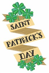 Saint Patricks Day embroidery design