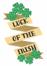 Luck Of Irish embroidery design