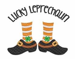 Lucky Leprechaun embroidery design