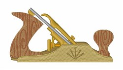 Wood Plane embroidery design