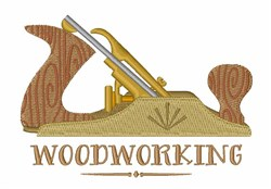 Woodworking embroidery design