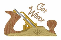 Got Wood embroidery design