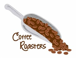 Coffee Roasters embroidery design
