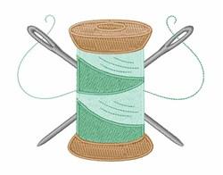 Needles & Thread embroidery design