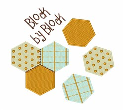 Block By Block embroidery design