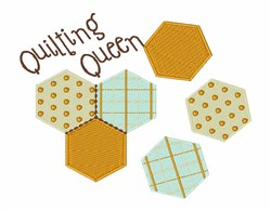 Quilting Queen embroidery design