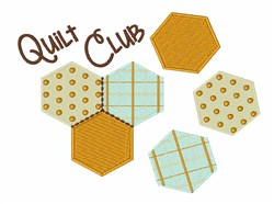 Quilt Club embroidery design