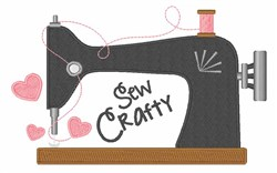 Sew Crafty embroidery design