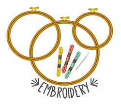 Embroidery embroidery design