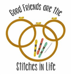 Stitches In Life embroidery design