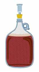 Beer Brewing embroidery design