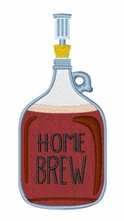 Home Brew embroidery design