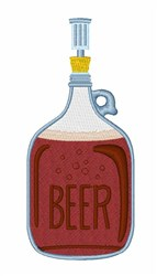 Brew Beer embroidery design