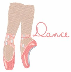 Ballerina Dance embroidery design