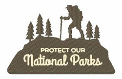 National Parks embroidery design
