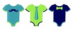 Baby Boy Clothes embroidery design