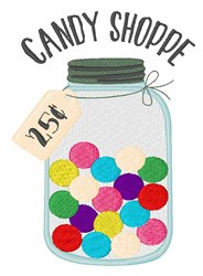 Candy Shoppe embroidery design