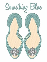 Something Blue embroidery design