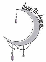 Dream Moom embroidery design