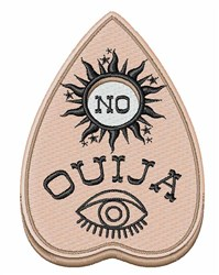 Ouija No embroidery design