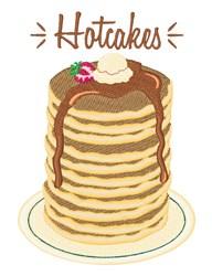 Hotcakes embroidery design