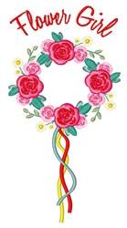 Flower Girl embroidery design