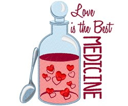Best Medicine embroidery design