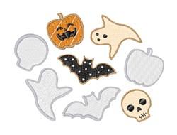 Halloween Cookies embroidery design