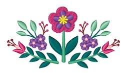 Folk Art Floral embroidery design
