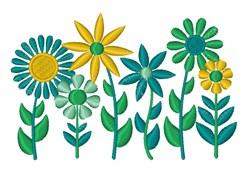 Folk Art Flowers embroidery design