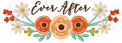 Ever After embroidery design