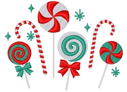 Christmas Candy embroidery design
