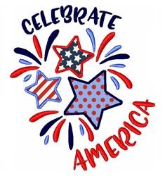 Celebrate America embroidery design