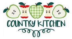 Country Kitchen Applique embroidery design