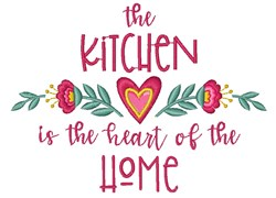 Heart Of The Home embroidery design