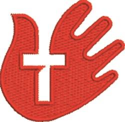 Crucifix Hand embroidery design