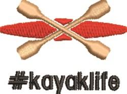 #kayaklife embroidery design