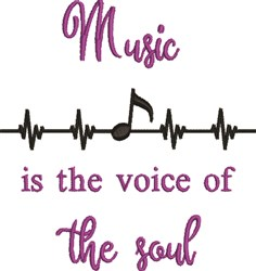 Voice Of The Soul embroidery design