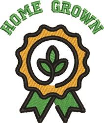 Home Grown Award embroidery design