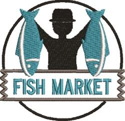 Fish Market embroidery design