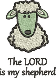 Sheep Lord embroidery design