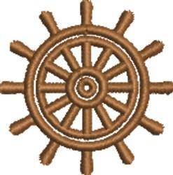 Ships Wheel embroidery design