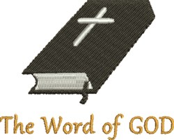 Word Of God embroidery design